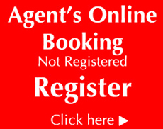 Register for our online booking Engine