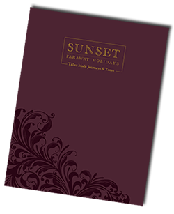 Sunset Travel Brochure 2015
